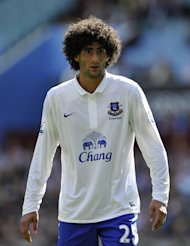 Marouane Fellaini faces a three-week spell on the sidelines, according to the Belgian Football Association