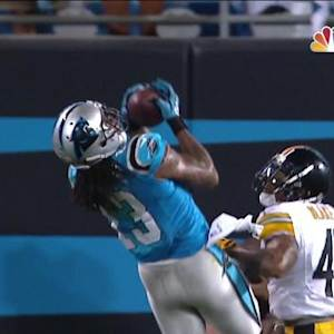 Carolina Panthers wide receiver Kelvin Benjamin 35-yard TD reception