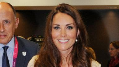 Kate Middleton Stuns in Gold
