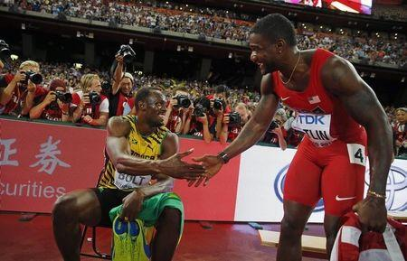 Bolt and Gatlin headed to Brussels, but will not meet