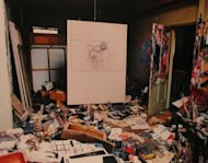 Photographs of Francis Bacon's Studio at 7, Reece Mews. 1998, Perry Ogden