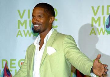 Jamie Foxx MTV Video Music Awards 2005 - Press Room - 8/28/05