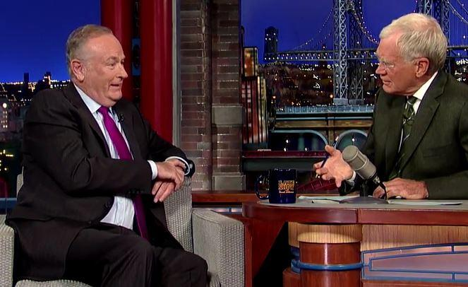 Bill O'Reilly's Visit With David Letterman Draws Fire