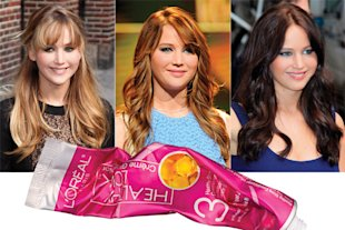 Celebrity Hair Colour Transformers 