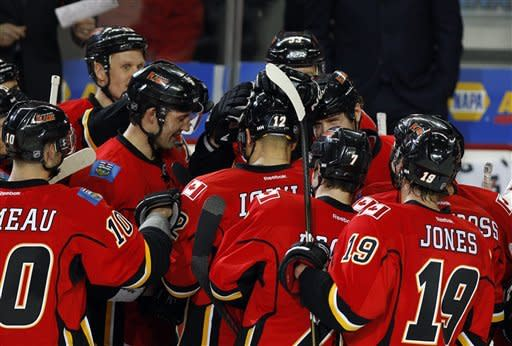 Iginla scores 500th goal as Flames beat Wild, 3-1