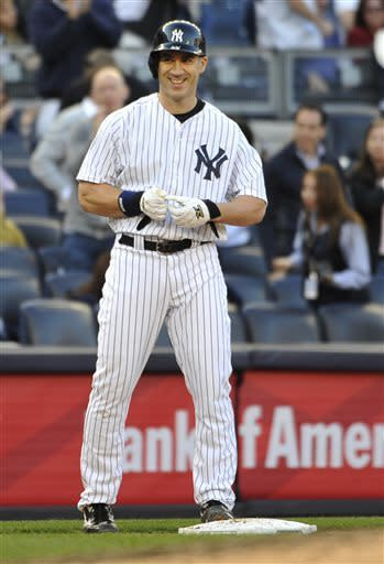 Hafner homers, triples as Yankees beat Blue Jays