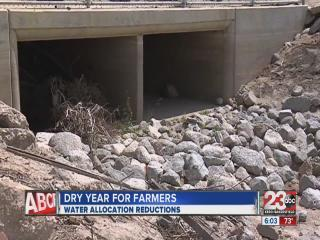 Farm water reductions
