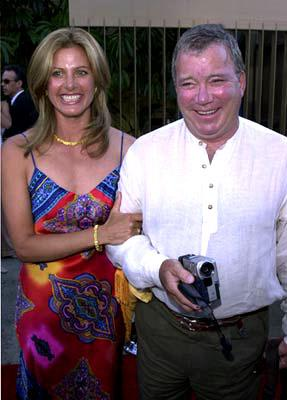 William Shatner with wife Liz in Warner Brothers' Osmosis Jones
