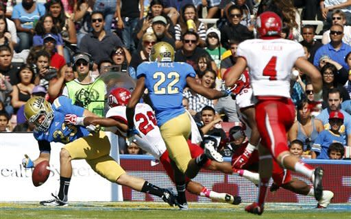 Hundley, Franklin lead UCLA past Utah 21-14