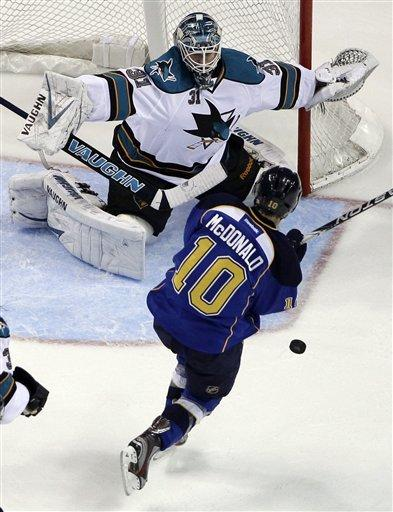 Blues-Sharks Preview