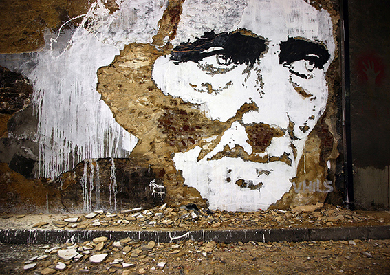 Smashing through the surface of street art an interview with vhils by