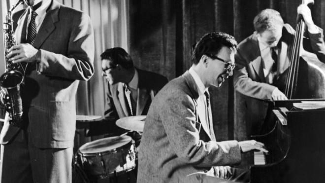 Jazz royalty: The Dave Brubeck Quartet perform in 1960.