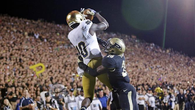 Notre Dame to play at Fenway Park in 2015