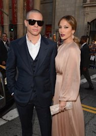 Jennifer Lopez y Casper Smart /WireImage