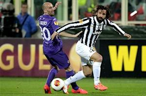 Fiorentina 0-1 Juventus (Agg. 1-2): Pirlo pearler sends Conte's side through