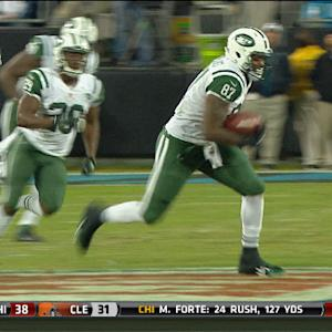 New York Jets tight end Jeff Cumberland 35-yard catch