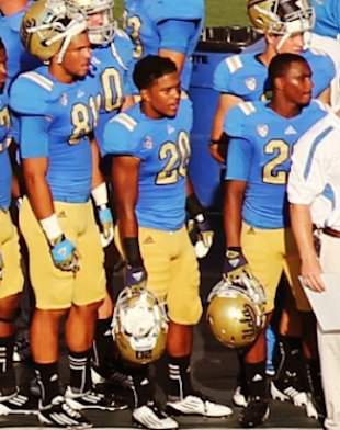 WATCH! P. Diddy & Baby Mama Celebrate Justin's First Game At UCLA Rose Bowl