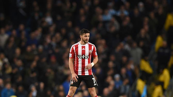 Southampton's striker Shane Long celebrates after scoring during an English Premier League match on November 28, 2015
