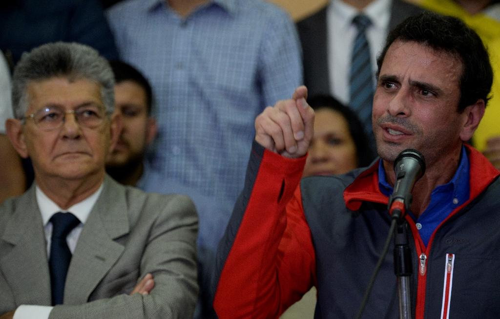 Angry Venezuela opposition vows rallies, alleges coup
