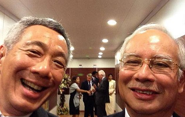 Malaysian minister Datuk Seri Sharidan Kassim on Tuesday sought to fend off allegations of excess in the government's use of private jets, claiming that it would cost more to follow Singapore's choice to charter flights for government leaders. (Twitter PM Lee)
