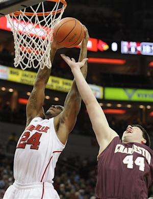 No. 4 Louisville beats College of Charleston
