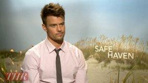 'Safe Haven' Stars Josh Duhamel, Julianne Hough on Acting in the Shadow of 'The Notebook' (Video)
