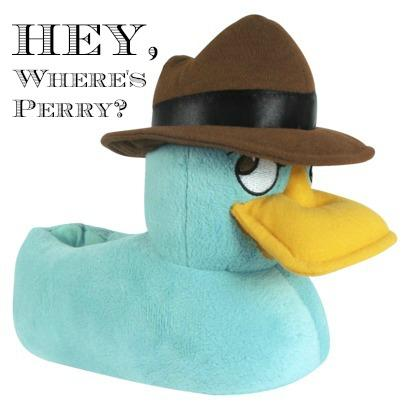 Phineas and Ferb 'Perry' Slippers