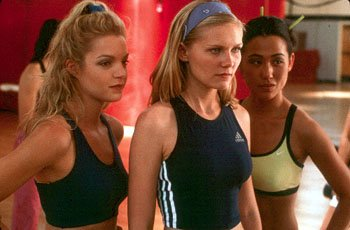Clare Kramer , Kirsten Dunst and Nicole Bilderback are members of America's number one cheerleading team in Universal's Bring It On
