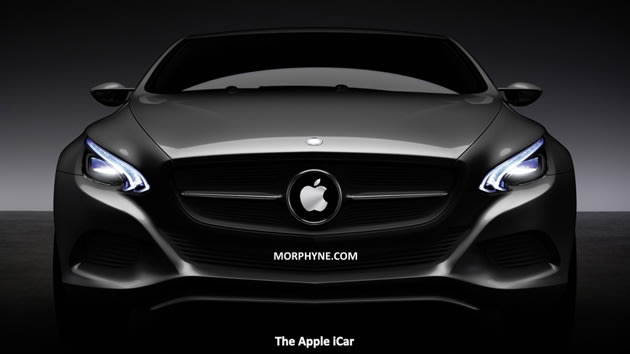 Apple iCar render