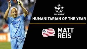 For Boston Marathon bombing heroics, Matt Reis named MLS WORKS Humanitarian of the Year