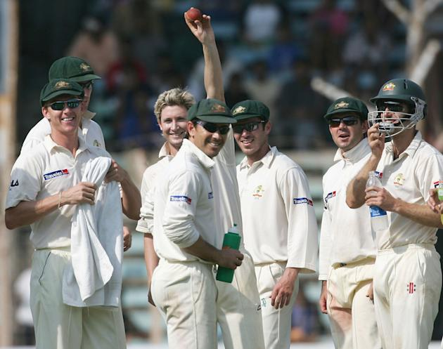 Fourth Test - India v Australia: Day 3