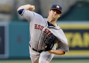 Astros' Norris beats Angels again 2-0