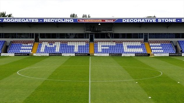 Cash-strapped Macclesfield were forced to sell the freehold to Moss Rose last week