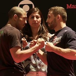 UFC 179: Open Workout Highlights
