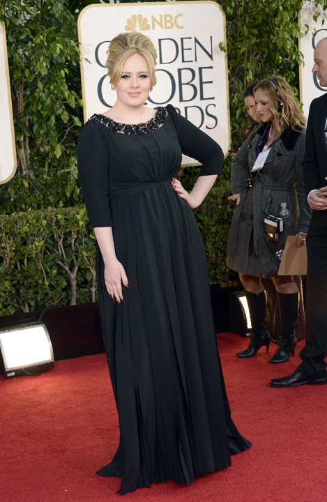 "NBC's ""70th Annual Golden Globe Awards"" - Arrivals: Adele"