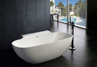 Egg-Shaped Bathtub