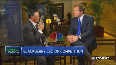 BlackBerry CEO: Something brewing to regain share