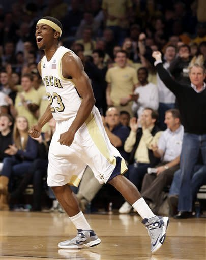 Carter leads Georgia Tech past Maryland 78-68