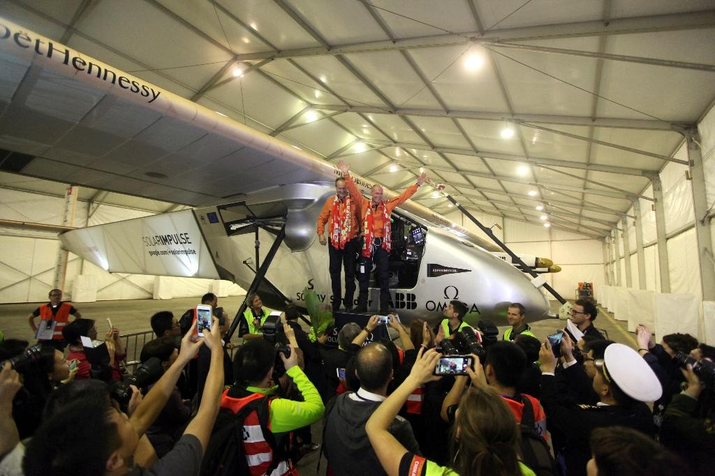 Solar Impulse lands in China after 20-hour flight from Myanmar
