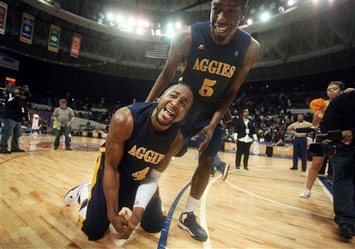 MEAC Men: NC A&T 57, Morgan St. 54