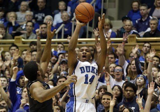 No. 1 Duke bounces back by routing Terps 84-64