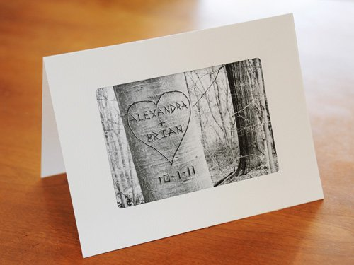Personalized Love Tree Card