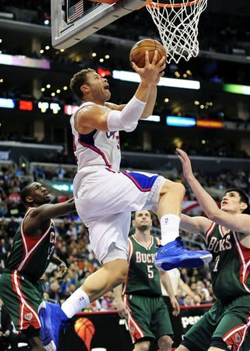 Clippers stop Bucks' streak with 117-101 victory