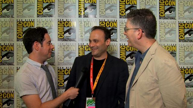 Comic-Con 2012 - Steven Molero and Bill Prady Interview