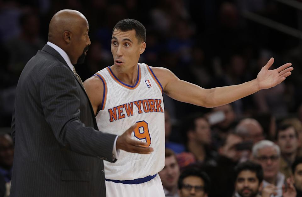 Lineup unset, Smith out as Knicks ready for opener