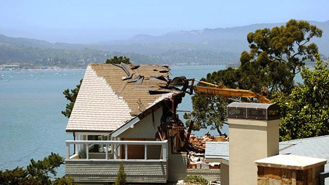 A $4.2 Million Tear-Down House in Belvedere, California