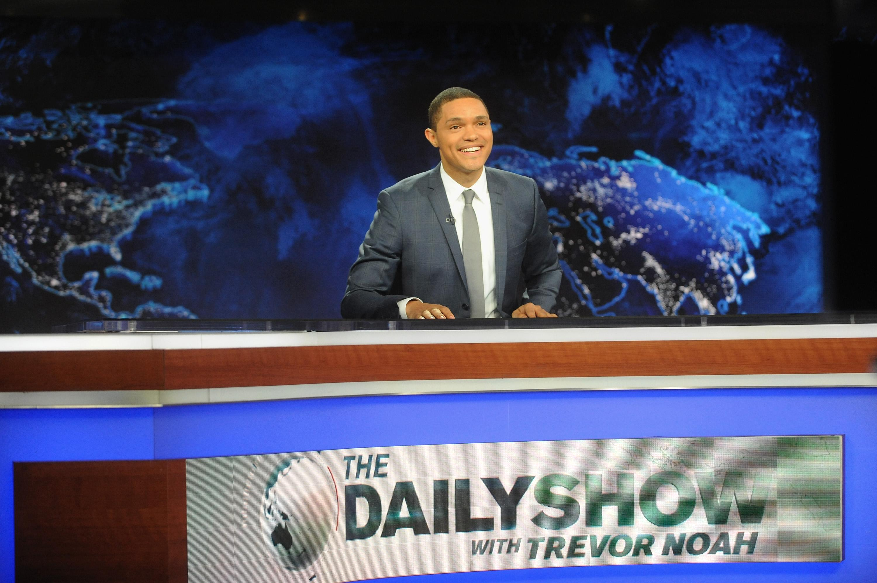 Trevor Noah First Week Hosting 'The Daily Show': 1.02M Viewers