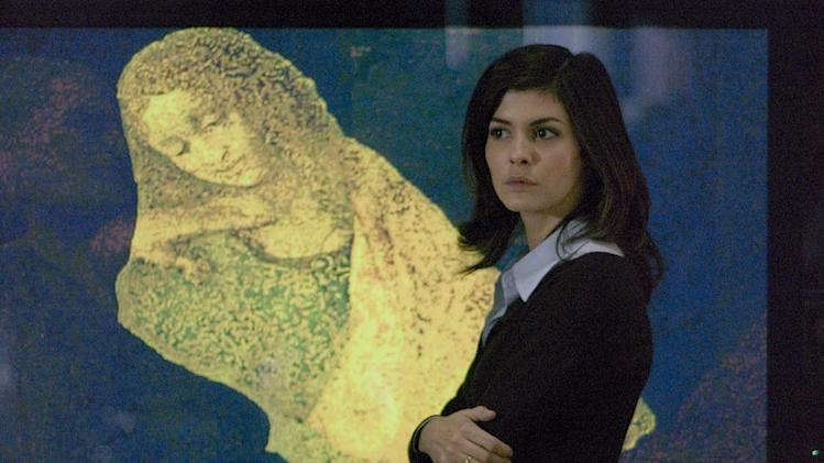 The Da Vinci Code Columbia Pictures Production Stills 2006 Audrey Tautou