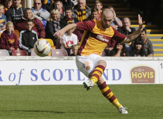 Soccer - Scottish Premiership - Motherwell v Aberdeen - Fir Park
