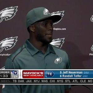 Philadelphia Eagles wide receiver Nelson Agholor: 'That's where I wanted to be'
